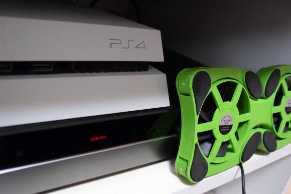 [PS4爆音対策]うるさいPS4に排熱ファン設置完結編