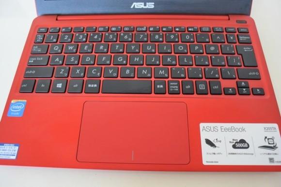 ASUS EeeBook X205TA キーボードレビュー
