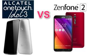 Alcatel OneTouch Idol3(5.5) vs ZenFone2 スペック比較