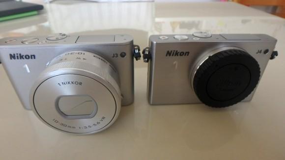 Nikon J4からJ3にしたら快適