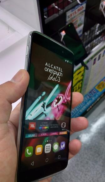 Alcatel OneTouch Idol3(5.5) 店頭レビュー