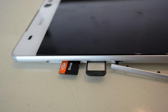 XPERIA C5 Ultra ファーストレビュー SIM microSD
