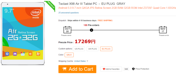Teclast X98 Air III