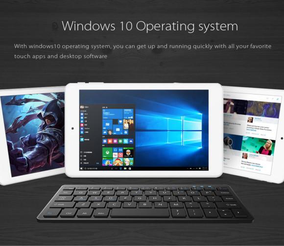 約1万円の8型Win10タブレットはいかが?『Cube iwork8 Ultimate』