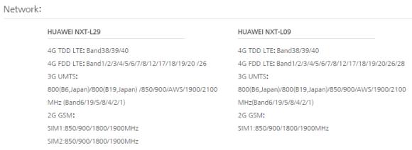 HUAWEI Mate8 global version