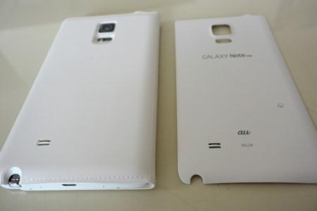 Galaxy Note Edge フリップカバーレビュー