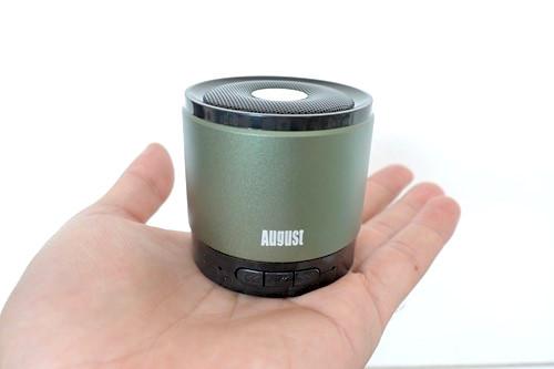 『August Bluetoothワイヤレススピーカー MS425』を試す! コンパクトクールアルミデザインスピーカーはいかが?