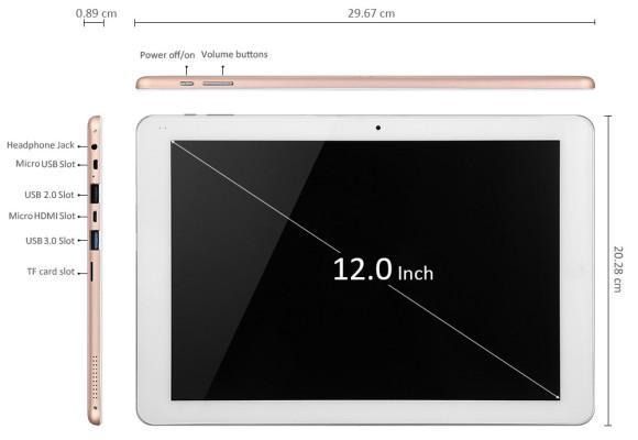Chuwi Hi12 Tablet