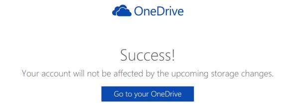OneDrive 容量 15GB 維持