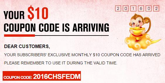 """GearBestで使える""""10ドル""""クーポンをどうぞ 2016年2月29日まで!"""