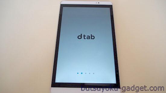 dtab Compact d-02H レビュー