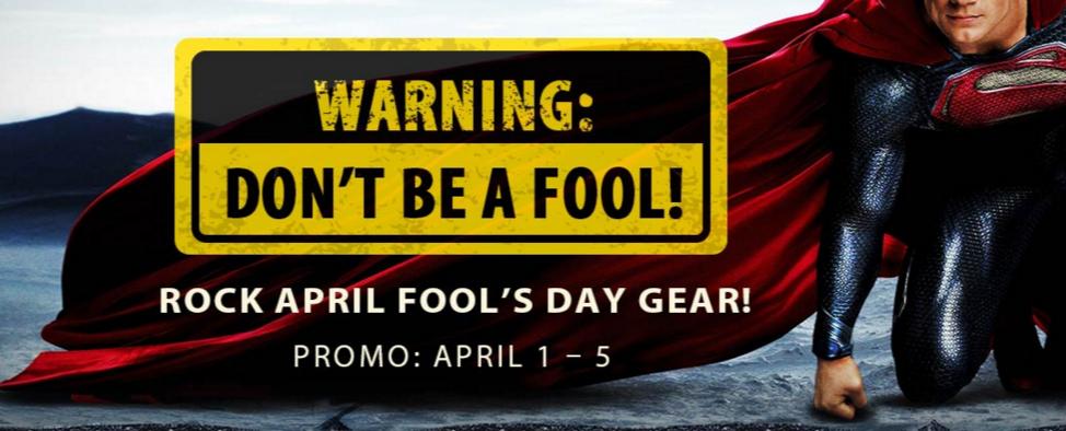 GearBestで「ROCK APRIL FOOL's DAY GEAR!」セール中! 4/6まで!