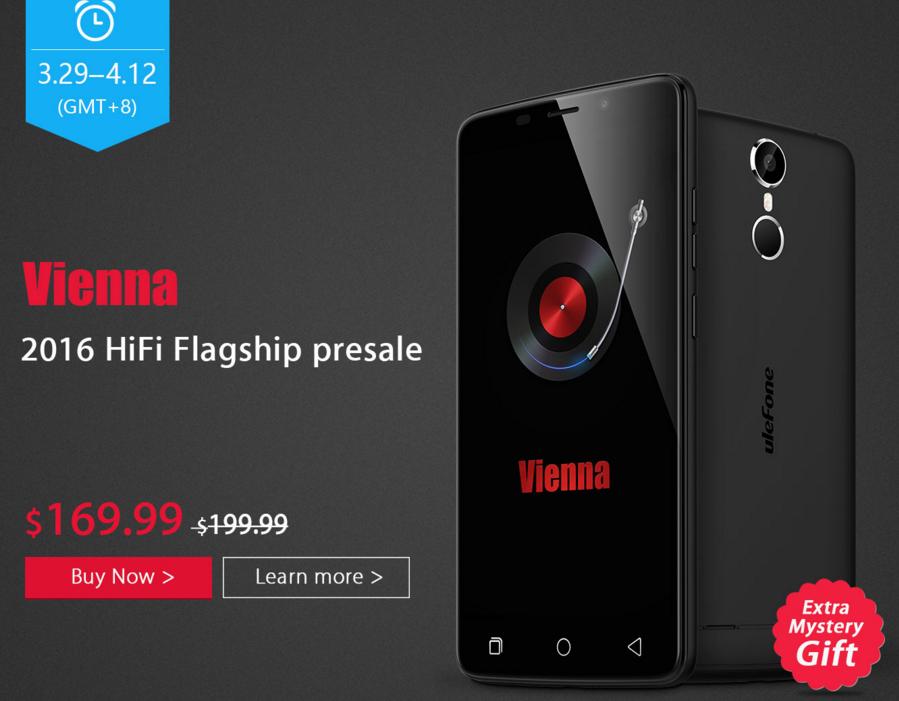 Ulefoneから音にこだわった5.5インチフルHDスマホ『Vienna』が発売! いきなり2万円以下でお買い得