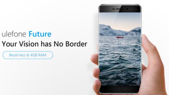 【クーポン有】超ベゼルレス5.5インチフルHDスマホ『Ulefone Future』発売!RAM 4GB/側面指紋認証