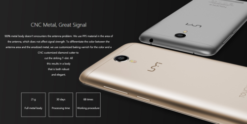 UMI TOUCH X 4G