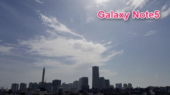 Galaxy Note5 カメラ