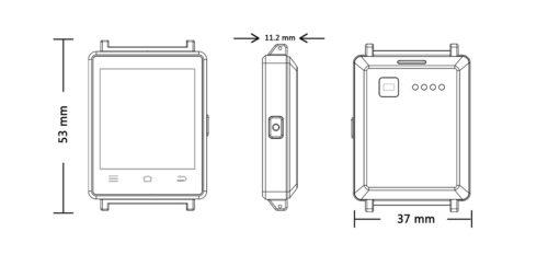 NO.1 D6 3G Smartwatch