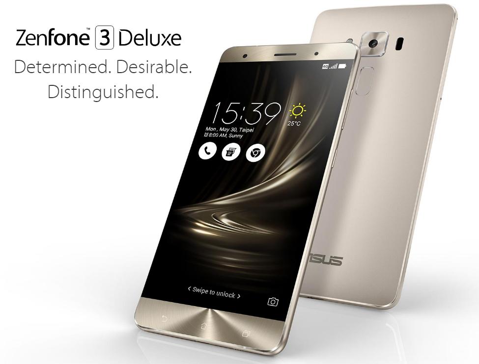 ASUS 5.7インチ『Zenfone 3 Deluxe』を発表! スペックと写真まとめ!