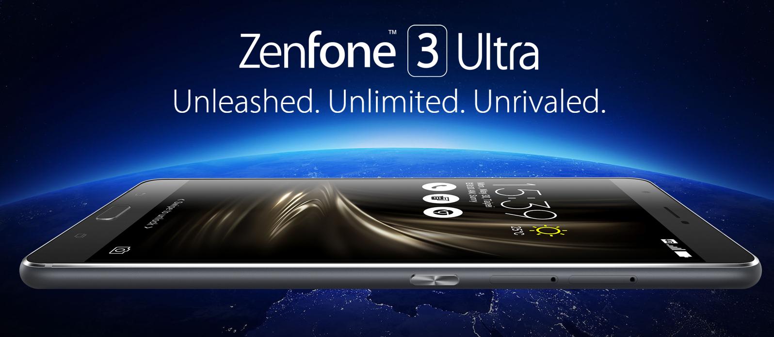 ASUS 6.8インチ『Zenfone 3 Ultra』を発表! スペックと写真まとめ!