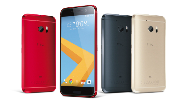au 2016年夏モデル『HTC 10 HTV32』発売!スナドラ820のハイエンド端末~