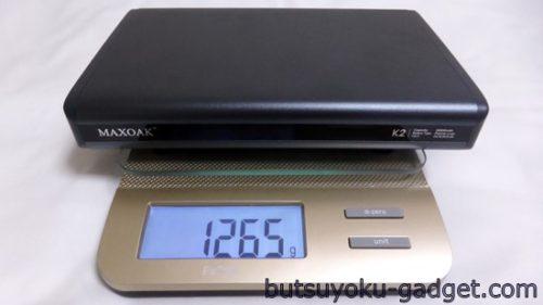 MAXOAK 50000mAh モバイルバッテリー レビュー
