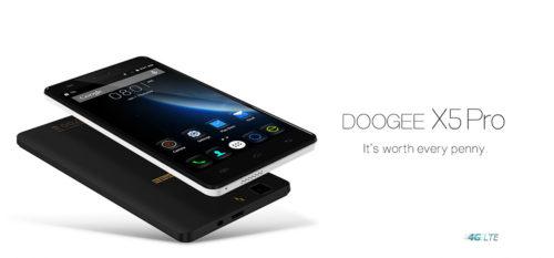 8000円台のLTEスマホ『DOOGEE X5 Pro』。4Gエントリーレベルの価格破壊