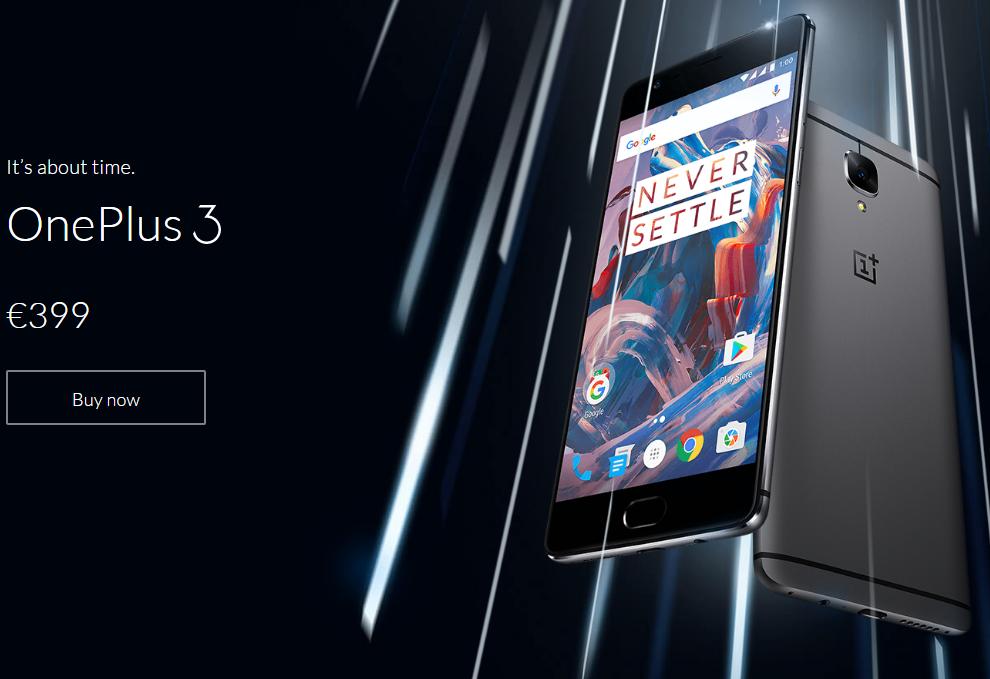 【緊急入荷&在庫一掃 195.99ドル】スナドラ820/6GB RAM搭載『OnePlus 3』登場! 超ハイエンドで実売5万円という衝撃~