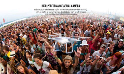 Elephone Elecam 360 WiFi Action Camera