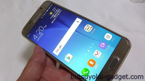 Galaxy S6 SC-05G レビュー Touch Wizホーム