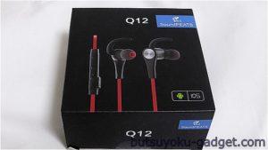 Bluetoothイヤホンの最高峰!?『SoundPEATS Q12』を試してみた!コスパ抜群のスポーツイヤホン