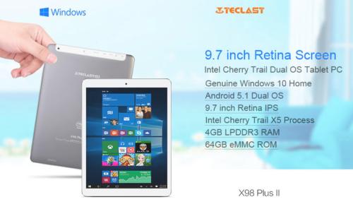 iPad Airクラス 9.7インチタブレット『Teclast X98 Plus II』  QXGA+4GB RAMで快適タブレットはどう?