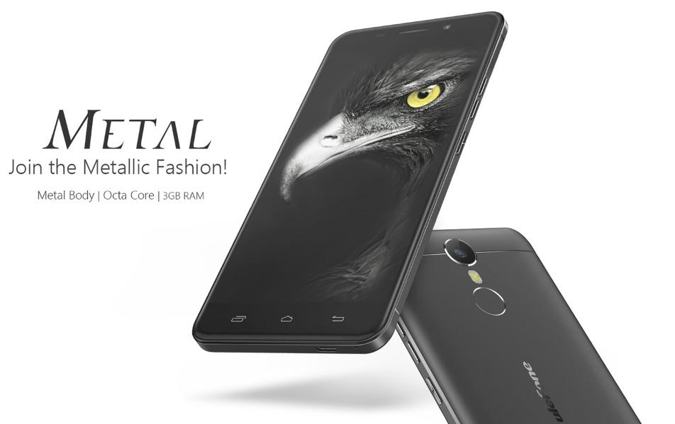 5.0インチメタルボディスマホ『Ulefone Metal』が発売! HD解像度ながら1.4万円台~