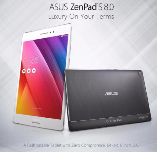 64GB ROM版日本未発売の7.9インチ QXGAタブレット『ASUS ZenPad S 8.0 Z580CA』の輸入はどう?