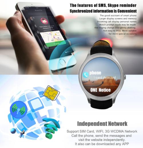 NO.1 D5+ Smartwatch Phone