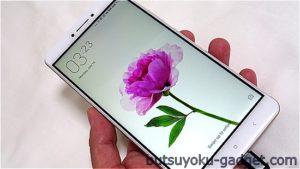 【実機レビュー#2】6.44インチフルHD『Xiaomi Mi Max』レビュー! ~外観チェック編