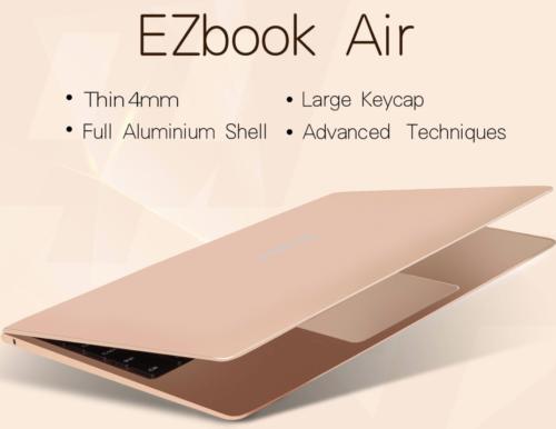 MacBook Airクローン!?11.6インチで980g『Jumper EZbook Air』発売! フルHDにストレージ128GBを搭載した薄型ノートPC