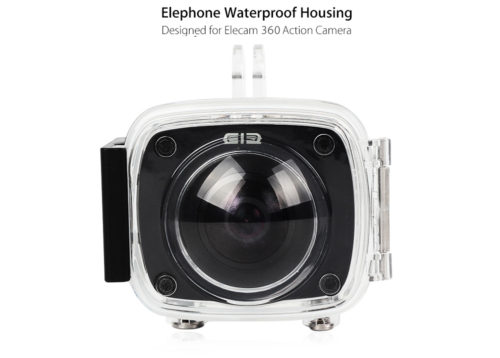 Elephone Elecam 360 WiFi Action Camera 防水ハウジング