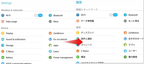 ASUS ZenPad S 8.0 Z580CA 実機レビュー 日本語化