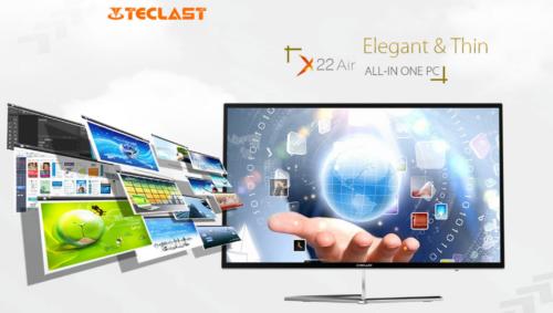 21.5インチモニタ一体型PC『Teclast X22 Air』発売中! Celeron+4GB RAM+128GB SSDでお買い得モデル
