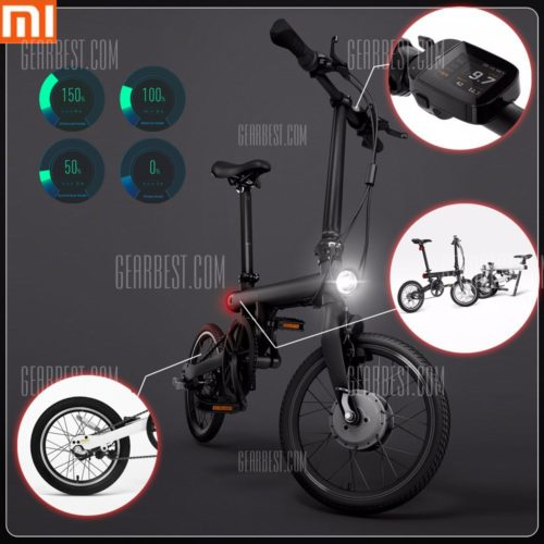 Original Xiaomi QiCYCLE - EF1 Smart Bicycle  -  BLACK