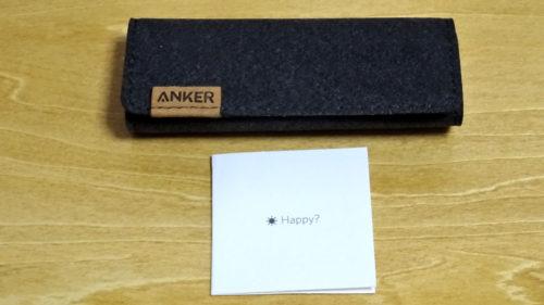 Ankerのナイロン製『Anker PowerLine+ USB TYPE-Cケーブル』買ってみた!