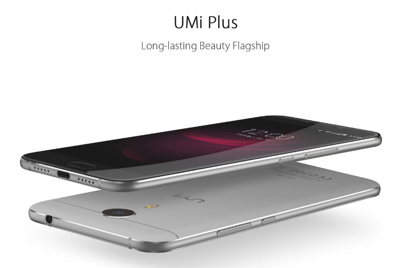 【クーポン追加】5.5インチフルHD『UMi Plus』発売! Helio P10を搭載したフルメタルボディスマホ