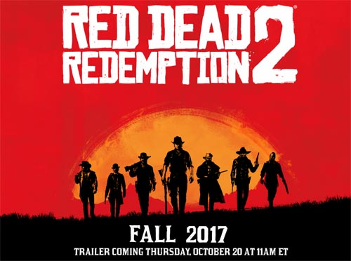 【トレーラームービー追加】遂に『RDR2 : Red Dead Redemption 2』が2017年10月20日発売に!