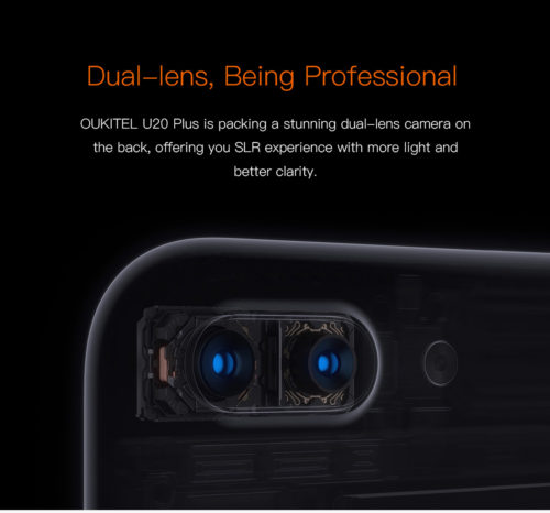 デュアルレンズカメラ搭載で1万円台! 5.5インチフルHD『OUKITEL U20 Plus』が発売開始!