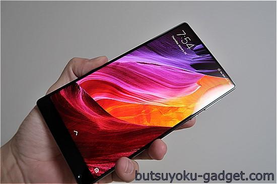【実機レビュー】画面占有率91.3%の破壊力は凄い 『Xiaomi Mi MIX』レビュー! 開梱~外観チェック編