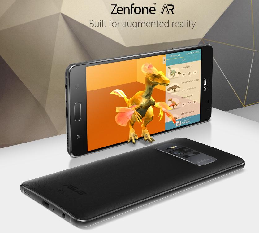 【日本では夏発売】RAM 8GB/5.7インチWQHD搭載『ASUS ZenFone AR』発表! トリプルカメラでDaydream/Tango対応