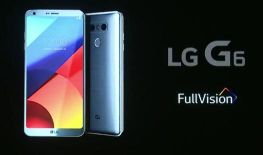 画面占有率80%以上!5.7インチQHD+/防水/デュアルレンズカメラ搭載『LG G6』発表!
