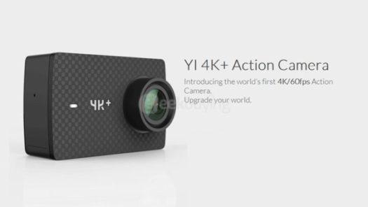 【29ドルOFFクーポン有】GoPro5 Heroよりスペックが凄い!? 4K 60fps撮影ができるアクションカム『YI 4K+』が発売!