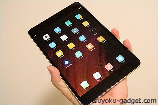 iPad miniクローンが地味に進化~Xiaomiの7.9インチ 4:3アスペクト比『Mi Pad3』レビュー!