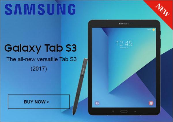 プレミアムAndroidタブレット『Samsung Galaxy Tab S3 9.7』がETORENで発売!